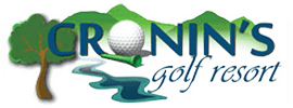 Cronin's Golf resort logo