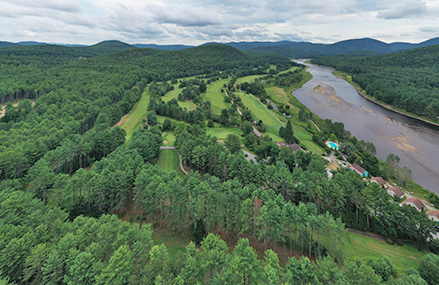 Cronin's Golf Resort aerial view
